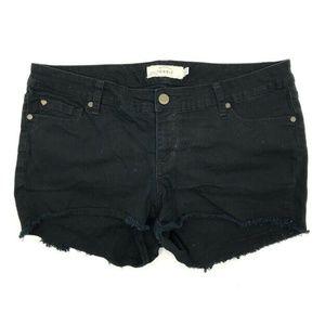 Torrid Denim Jean Shorts 16 Womens Cut Off Frayed